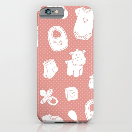 Baby red iPhone & iPod Case