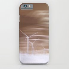 Ghostly wind turbines iPhone 6s Slim Case