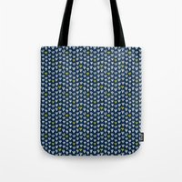 Pattern In Blue And Yell… Tote Bag