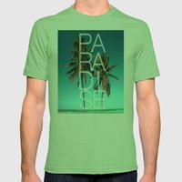 PARADISE Mens Fitted Tee Grass SMALL