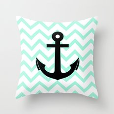 Pastel Mint Tiffany Turq… Throw Pillow