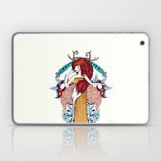 Lady of Fall Laptop & iPad Skin