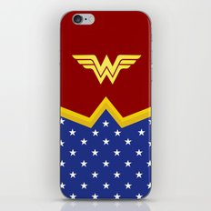 Wonder Of Woman - Superhero iPhone & iPod Skin