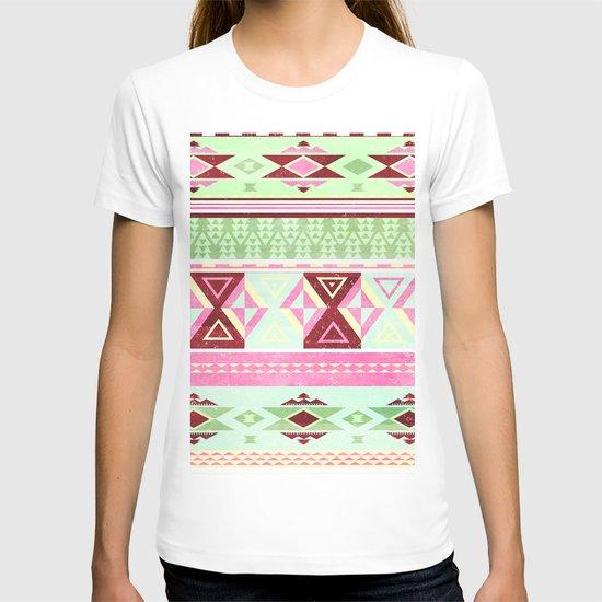 Neon Aztec T-shirt