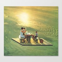 the last collage Canvas Print