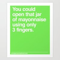 Mayo Art Print