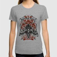 Buffalo Bill Lotion Post… Womens Fitted Tee Tri-Grey SMALL