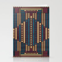 GeoAbstract Stationery Cards