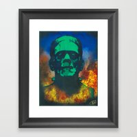 Boris Framed Art Print