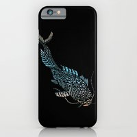 iPhone & iPod Case featuring Curious Koi by Katy Betz