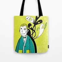 Everybody Has A Ghost Or… Tote Bag