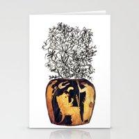 flowers for caligula Stationery Cards