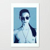 Stoya Canvas Print