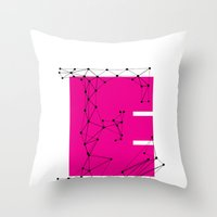 E (abstract Geometrical … Throw Pillow