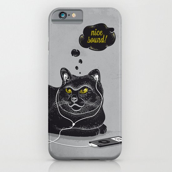 Chilling Cat iPhone & iPod Case