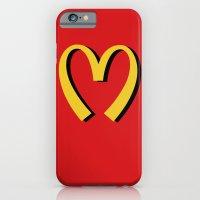 iPhone & iPod Case featuring McDonald's MOSCHINO by RickyRicardo787