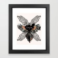 Carry Me Remix Framed Art Print