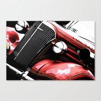3 Alarm Red Canvas Print