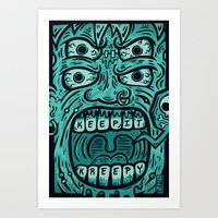 KEEP IT KREEPY Art Print