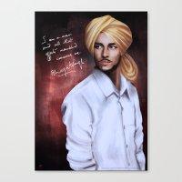 Shaheed Bhagat Singh Canvas Print