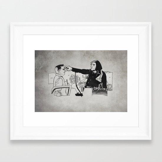 Friendo Framed Art Print