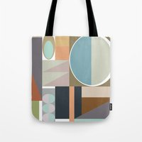 MCM Modestly Abstract Tote Bag