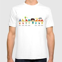 Snow White And The 7 Dwa… Mens Fitted Tee White SMALL