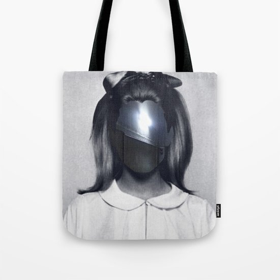 Fear collage Tote Bag