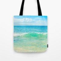 Ocean Blue Beach Dreams Tote Bag