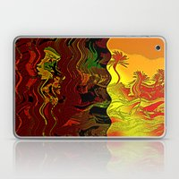 Palm and mysterious shape Laptop & iPad Skin