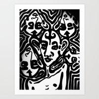 The Gossips Art Print