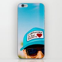 California Is For Lovers iPhone & iPod Skin