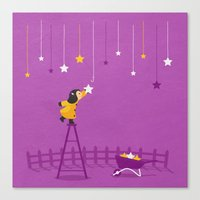 Hang You From The Heaven… Canvas Print