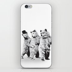 Funky Bears iPhone & iPod Skin
