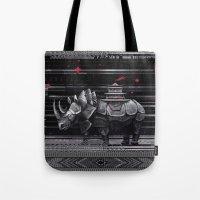 elegant rhinoceros Tote Bag