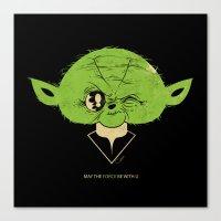 StarWars May The Force B… Canvas Print