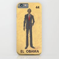 """obama iPhone & iPod Cases featuring EL OBAMA by """"dfrnt"""""""