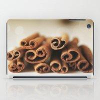 Cinnamon Sticks Bokeh iPad Case