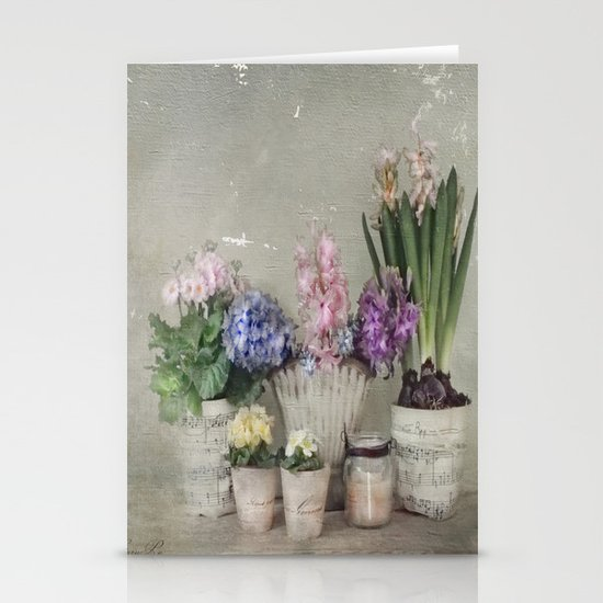 longing for springtime Stationery Card