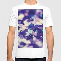 Grape Mix - An Abstract … Mens Fitted Tee White SMALL