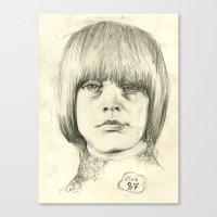 Club 27, Brian Jones Canvas Print