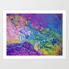 Wet Paint Blob Art Print
