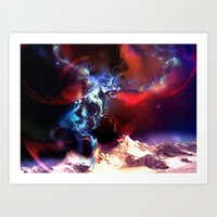Celestial Force Art Print
