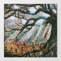 The Children's Tree Of Life #2 Canvas Print