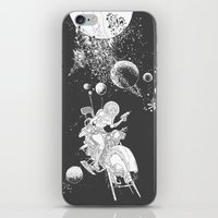rocket lass iPhone & iPod Skin
