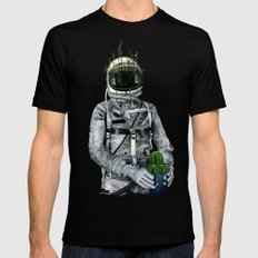 Cacti | Spaceman No:1 Mens Fitted Tee Black SMALL