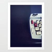 Smith Corona Electric Ty… Art Print