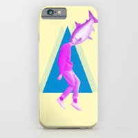 iPhone Cases featuring A perfect day for bananafish by Laura Nadeszhda
