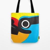 Black-browed Barbet Tote Bag