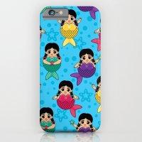 Chubby Mermaids iPhone 6 Slim Case